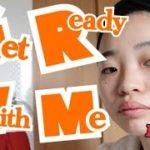 【GRWM】愛娘とのお出かけ!ヘアアレンジ、メイク、マザーバッグの準備!