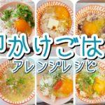 【ちょい足しレシピ】卵かけご飯アレンジ【超簡単おうちごはん】