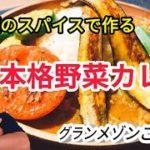 """【簡単料理レシピ】""""6種類のスパイス""""で作る、絶品野菜カレー【本格カレー】"""