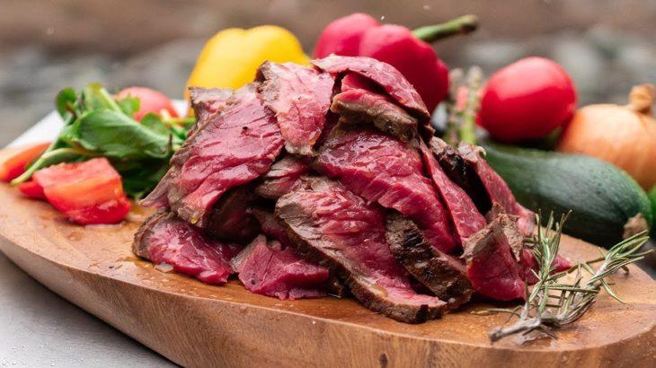 【超簡単キャンプ料理】ローストビーフ/Roast beef【レシピ 作り方】