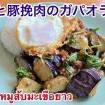 簡単 茄子と挽肉でガパオライス タイ料理 レシピ