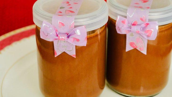 【バレンタイン】男子ごはんレシピ 簡単チョコプリンを作ってみた。ラッピングあり chocolate pudding recipe from Japanese TV show DANSHI GOHAN