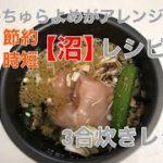 究極の減量飯【沼】レシピを主婦が節約・時短にアレンジ!!