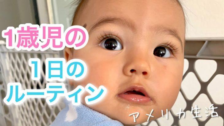 1歳児の1日のルーティン♡ BABY ROUTINE | アメリカ生活|新米ママ|子育て|国際結婚