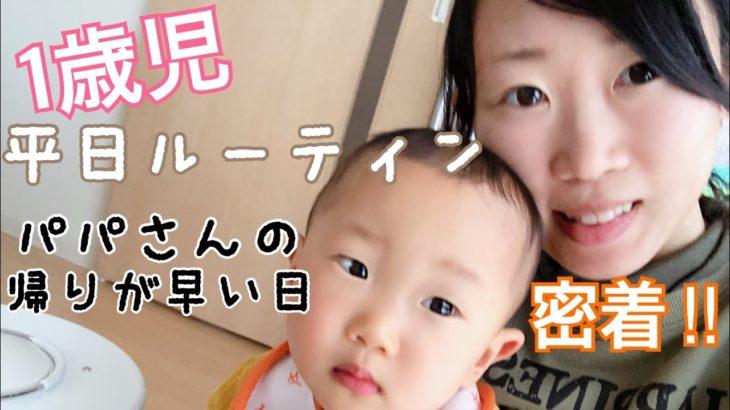 【ルーティン】1歳児と新米ママの1日に密着‼(家事・子育て)編 Day routine for one year olds and mothers