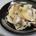 【簡単料理レシピMo 016】マッシュルームのサラダ