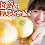 【新玉ねぎの季節です】簡単おいしいレシピで3品作る!大量消費にも!【料理】