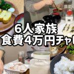 【節約生活】こども4人家族6人で食費4万円チャレンジ #家計管理#食費#主婦