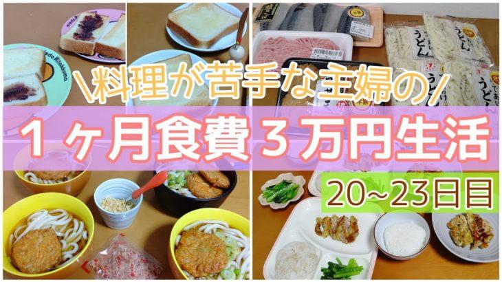 【食費節約】4人家族で1ヶ月3万円生活❗️お金とお米がなくなりそう(泣)