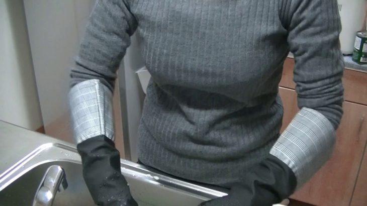 キッチンリセット 洗い物 食器 ゴム手袋 スポンジ 主婦 平日 毎日