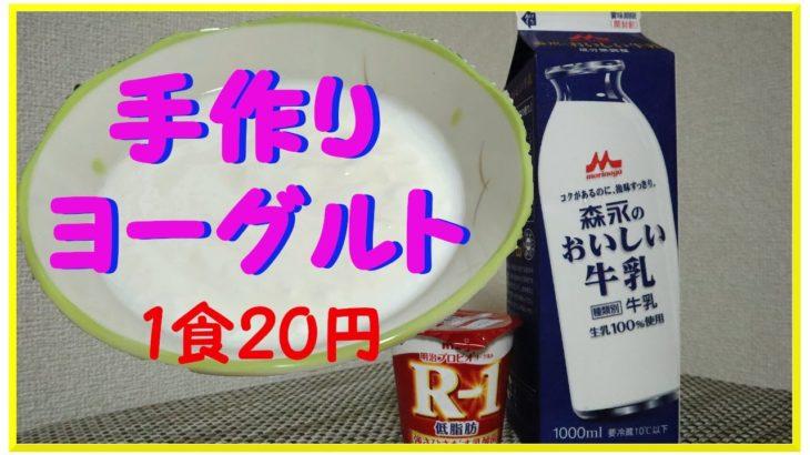 【節約女子の20円ヨーグルト】スーパーでヨーグルトを131円で買うのはもうやめた