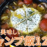 【2019年総集編】人気のキャンプ飯レシピ12選【簡単レシピ】/ 12 Popular Outdoor Recipes 2019