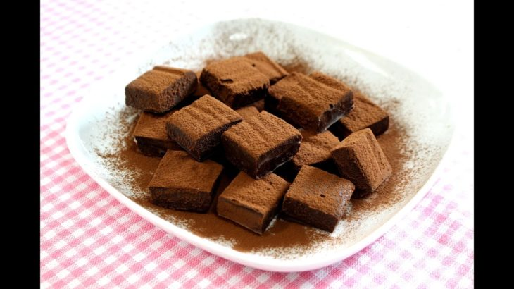 Nama Chocolate (chocolate with fresh cream) 簡単 生チョコ レシピ
