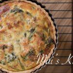 簡単!ほうれん草のキッシュのレシピ Quiche Recipe | マイズキッチン 料理