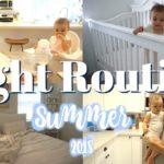Summer Night Routine | 夏のナイトルーティン♡新米ママ|アメリカ生活|