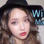 【プチプラ】赤リップに合う冬の大人マットメイク/Winter Matte Makeup