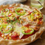 生地から 手作り♪ フライパン ひとつで 簡単 ピザ レシピ のレシピ 作り方