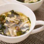 【基本のレシピ】簡単! ごま油 香る 卵 ふわふわ 中華 スープ のレシピ 作り方