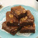 【 基本のレシピ】簡単に作れる!しっとり「濃厚チョコレートブラウニー」のレシピ・作り方