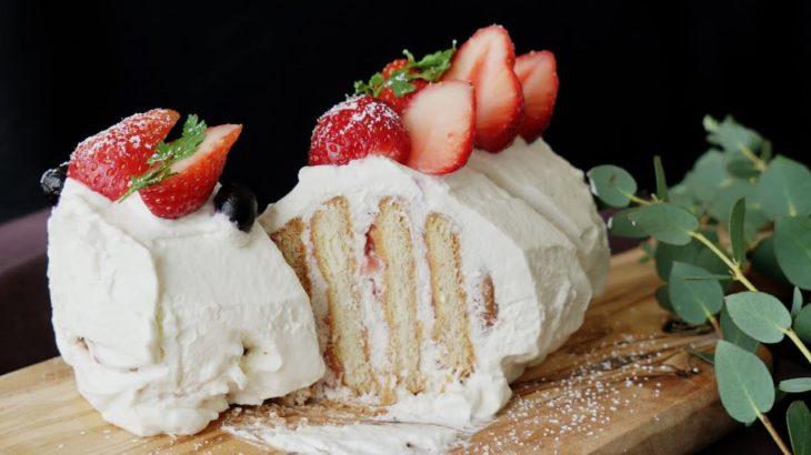 【レシピ】簡単!魔法のビスケットケーキ