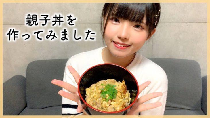 【レシピ無し】親子丼つくりに挑戦!【簡単料理】