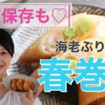 【簡単料理レシピ】冷凍作り置きも可能な春巻きでお家ご飯!