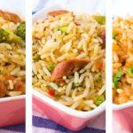 減量のための3健康的な米レシピ – 簡単な米レシピ