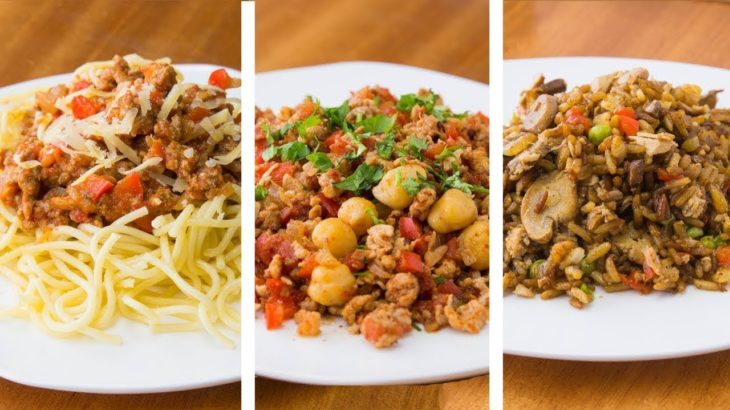 減量のための4つの健康的なディナーレシピ、簡単なディナーレシピ