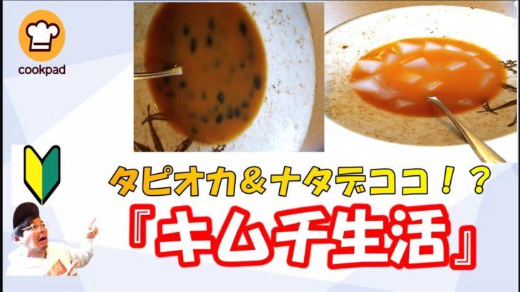 【キムチ】1週間クックパッドキムチ料理生活5日目~最終日
