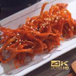 【韓国料理レシピ】箸が止まらない超簡単やみつき甘辛サキイカ(ビールにぴったり)4Kビデオ