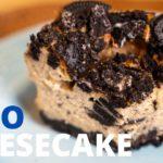 韓国で人気!オレオチーズケーキのレシピ・簡単な作り方 // Baked oreo cheesecake recipe