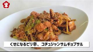 「bibim」超簡単韓国料理レシピーコチュジャンサムギョプサル編