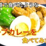 【簡単料理レシピ】スープカレーの作り方【北海道の思い出】