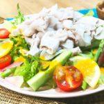 【お肉屋さん考案 料理レシピ】簡単!おいしい!冷しゃぶの作り方