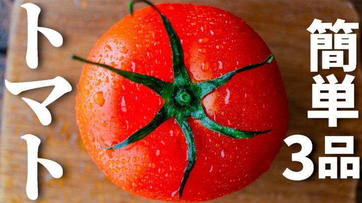【夏に食べたい!】トマトを使った簡単おつまみレシピ3品~3 tomato dishes~