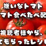火を使わないトマト簡単料理&視聴者トマトレシピ料理  クッキングのみです!