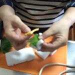 お弁当レシピ 簡単 はんぺんのしそチーズ挟み