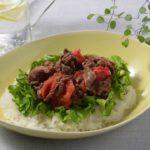 【時短レシピ】簡単! 牛肉トマト丼