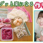 【一人暮らし女子の作り置き】簡単レシピで毎日のごはん作りを楽チンに!【冷凍ストック】