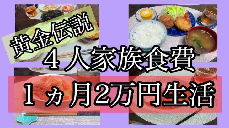 【食費節約生活】4人家族1ヶ月2万円生活10〜12日目🌷沸騰ワード志麻さん流焼きそば