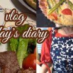 【vlog】簡単おもてなし料理、キッシュとライスコロッケで【主婦の日常】