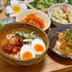 142円で作る冷麺定食/日常vlog/節約ごはん/節約料理/新米主婦