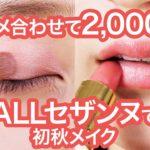 2000円で完成♡allセザンヌで色っぽ大人メイク