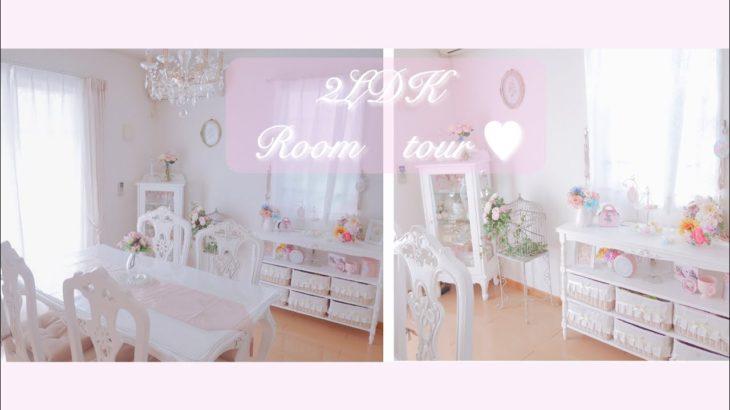 【リビング】ホワイトインテリア⭐︎ルームツアー主婦【2LDK】Francfranc.Room tour.
