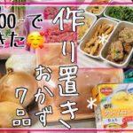 ㉗【作り置き/節約レシピ】簡単/低予算な7品、晩ごはんやお弁当のおかずに。Meal Prep(Eng Sub)