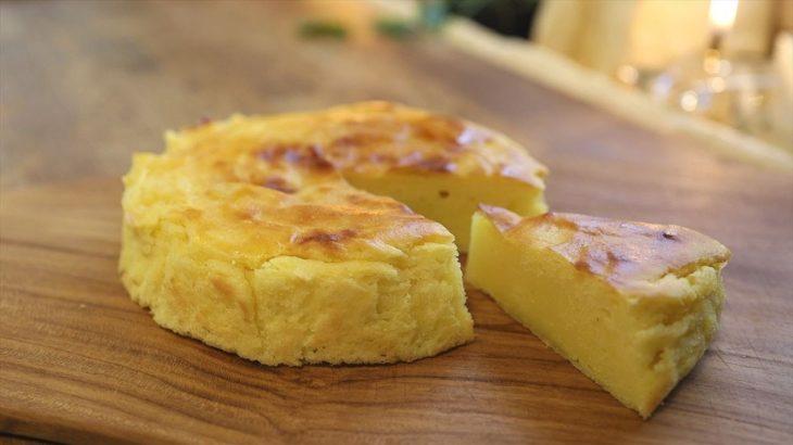 バスクスイートポテトケーキの作り方・レシピ【簡単本格バスポテ】さつまいも Baspue Sweetpotato Cake recipe|Coris cooking