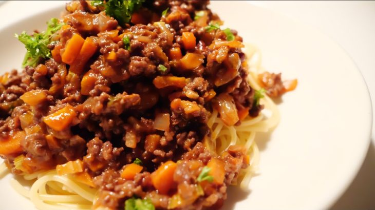 [How To Cook] Bolognese Spaghetti / ボロネーゼ スパゲッティ[簡単料理レシピ]