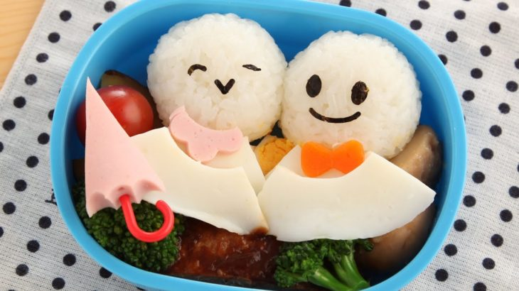 Teru Teru Bozu Bento Recipe てるてるぼうず弁当レシピ【簡単かわいいキャラ弁の作り方】