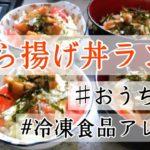 手抜き唐揚げ丼レシピ【簡単冷凍食品アレンジ】