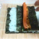 恵方巻を巻いてみた。【簡単料理レシピ!】